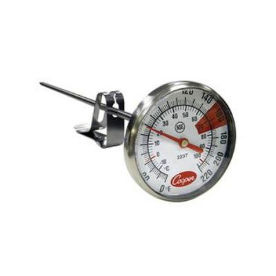 "Cooper Atkins 2237-04-8 | 1.75"" Dial Espresso Milk Frothing Thermometer [Delivery: 3-5 days]"