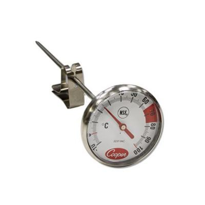 Cooper Atkins 2237-04C-8 | 1.75 Dial Espresso Milk Frothing Thermometer [Delivery: 3-5 days]
