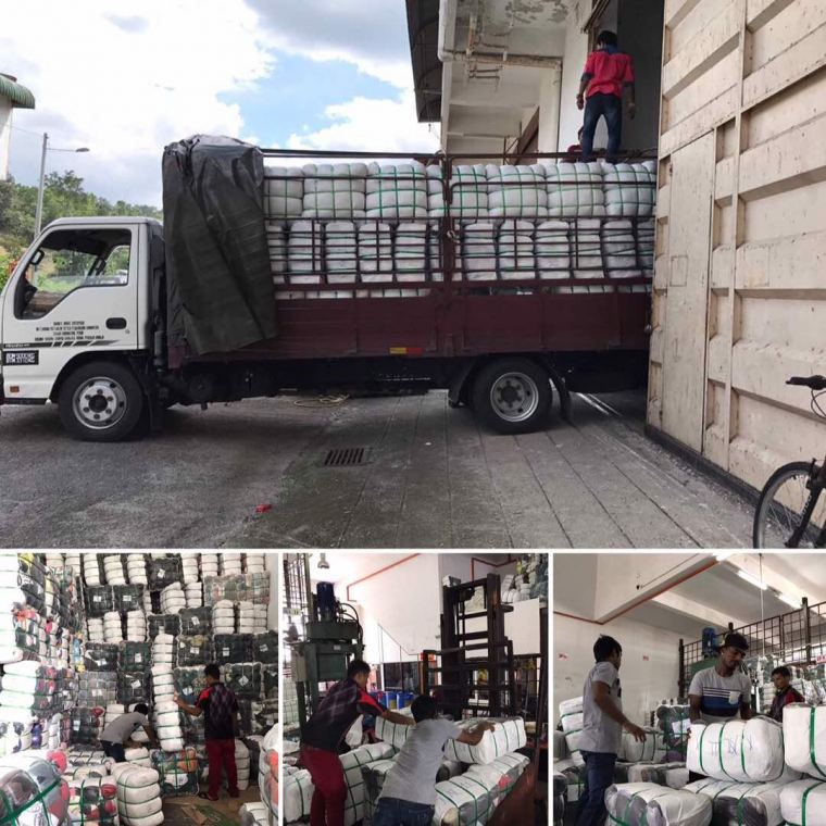 13.07.2017 Loading bundle to customer's lorry