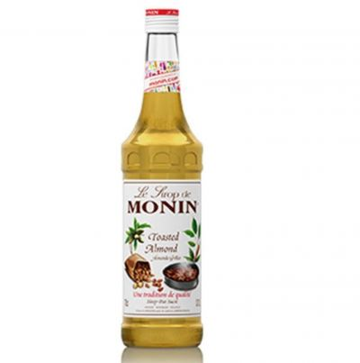 TOASTED ALMOND MONIN SYRUP 0.7L