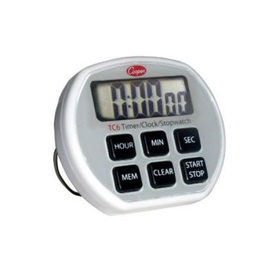 Cooper Atkins TC6 | 6 Button Electronic Timer/Clock/Stopwatch [Delivery: 3-5 days]