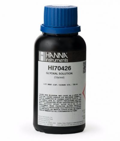 HI70426 Glyoxal Solution Reagent 40%, 100 mL