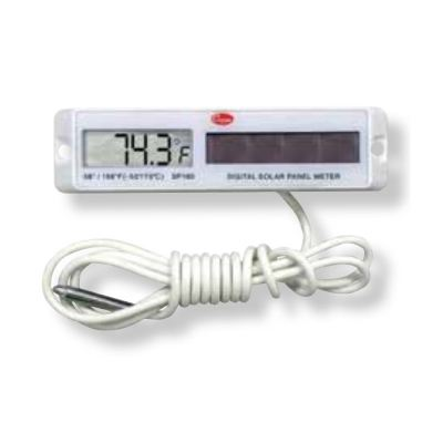 Cooper Atkins SP160-01 | Rectangular White Solar Panel Thermometer