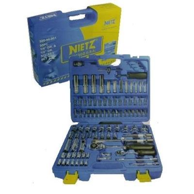 NIETZ 95pcs 1/4'DR.&1/2 DR.Master Combination Socket Bit Set