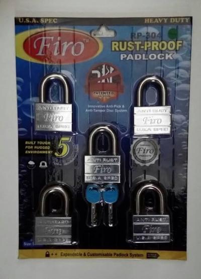 Firo Rush Proof Pad Lock