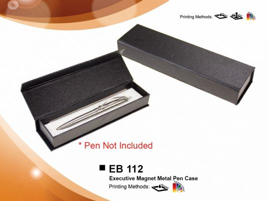 Pen Case EB 112- Executive Magnet Metal Pen Case