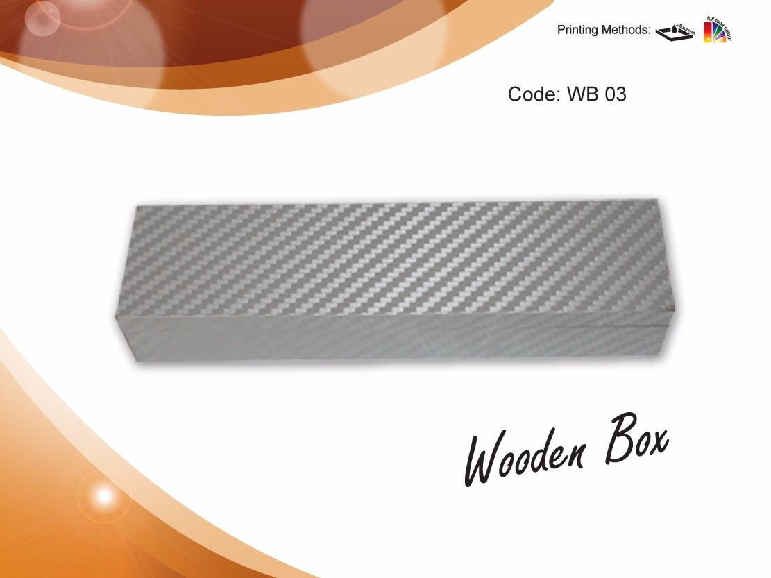 Pen Case WB 03- Wooden Box