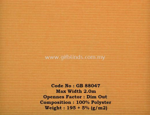 Dim Out Roller Blinds Sample GB88047