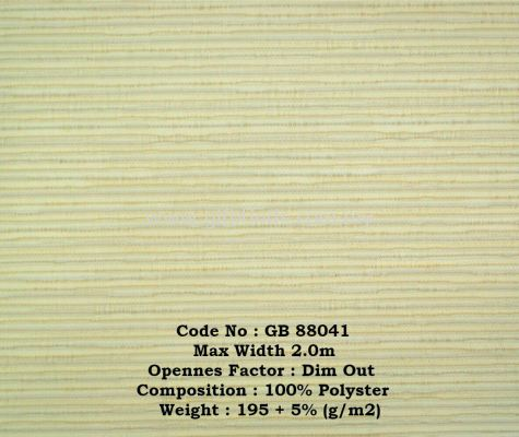 Dim Out Roller Blinds Sample GB88041