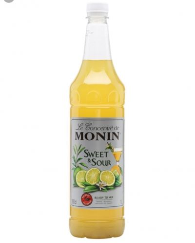 SWEET & SOUR MONIN SYRUP 1L