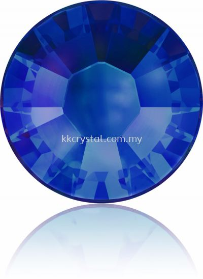 Swarovski Flat Backs Hotfix, 2038 SS10, Crystal Meridian Blue A HF (001 MBLUE), 144pcs/pack