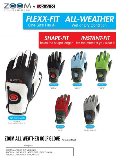 Zoom Gloves by BigMax