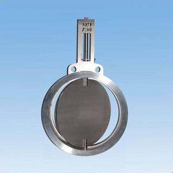 BUTTERFLY VALVE OF HIGH TEMPERATURE SERIES ( VF/MM)