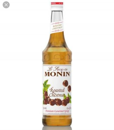 ROASTED CHESTNUT MONIN SYRUP 0.7L