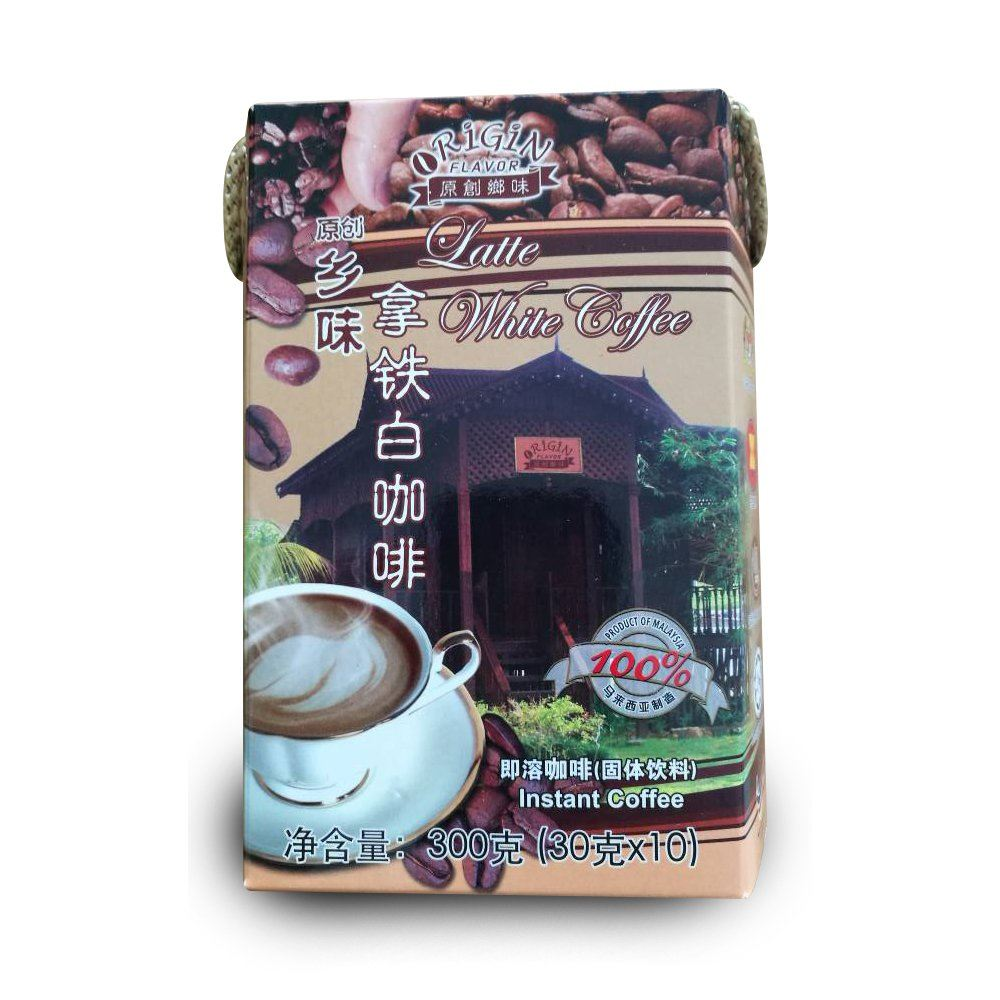 Latte White Coffee Stickpack Drinks, Beverages, Supplier, Supply   ~ 96 Beverage (M) Sdn Bhd