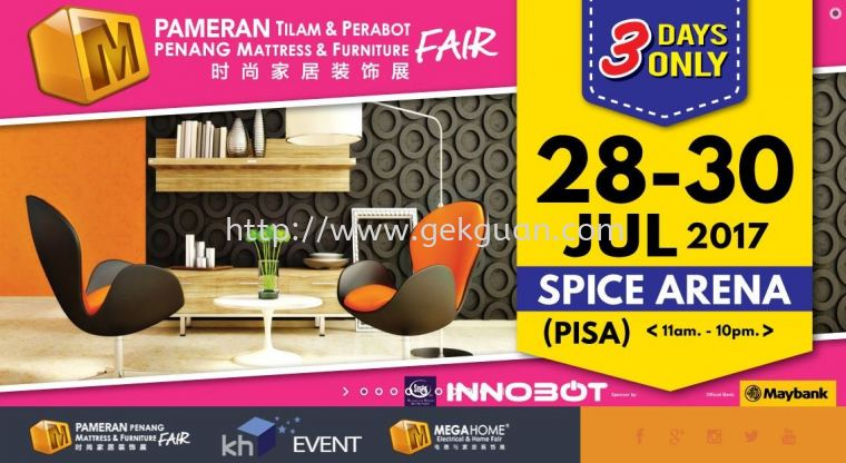 HOME FURNITURE FAIR IN SPICE ARENA PENANG !!!