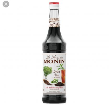 CEYLON TEA MONIN SYRUP 0.7L