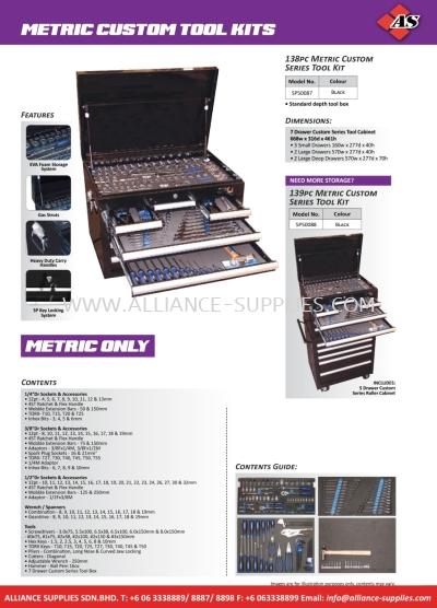 SP Custom Series Tool Kits