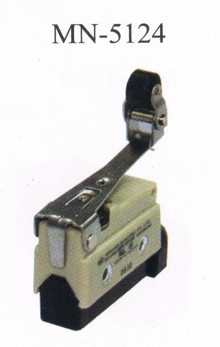 MOUJEN MN-5124 Compact Enclosed Limit Switch MOUJEN TAIWAN LIMIT SWITCH  Limit Control Switch