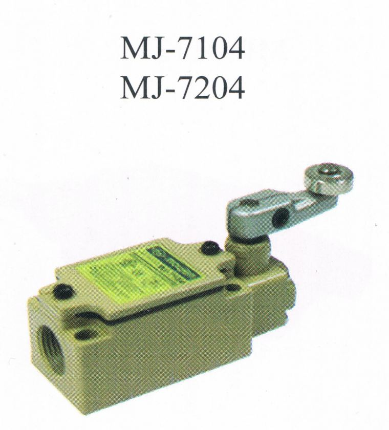 MOUJEN MJ-7104, 7204 MOUJEN TAIWAN LIMIT SWITCH  Limit Control Switch