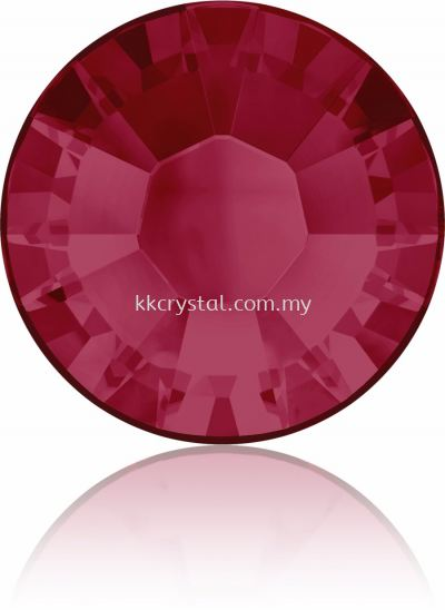 Swarovski Flat Backs Hotfix, 2038 SS30, Ruby A HF (501), 36pcs/pack