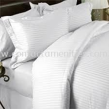 Duvet Cover - Satin Stripe 1cm