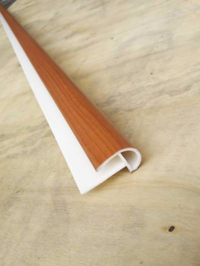 PVC  Stair Nose Round - Cherry ( R8-1032 )