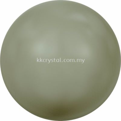 Swarovski 5810 Crystal Round Pearl, 03mm, Crystal Powder Green Pearl (001 393), 200pcs/pack