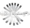 Feeler Gauge Set 16Pc Measuring Tools Professional Hardware Tools