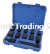12Pcs 12.5MM Dr Impact Socket Set Air Tool Professional Hardware Tools