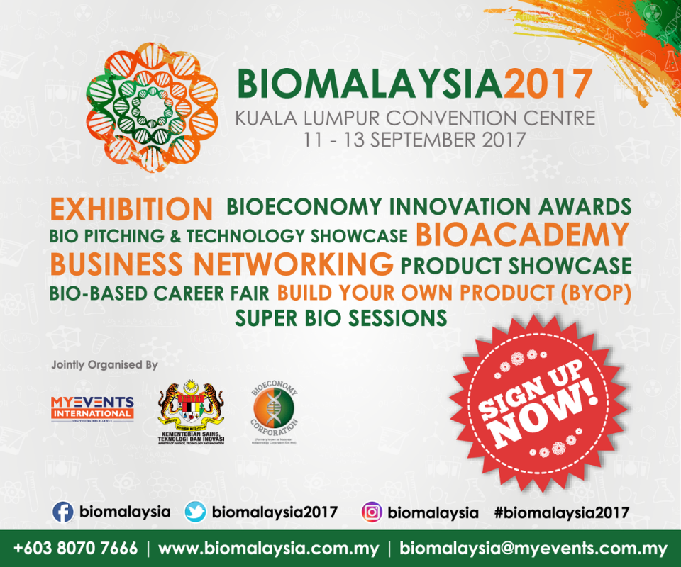 BioMalaysia 2017 September 2017 Year 2017 Past Listing