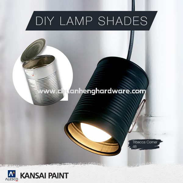 KANSAI PAINT DIY LAMP SHADES