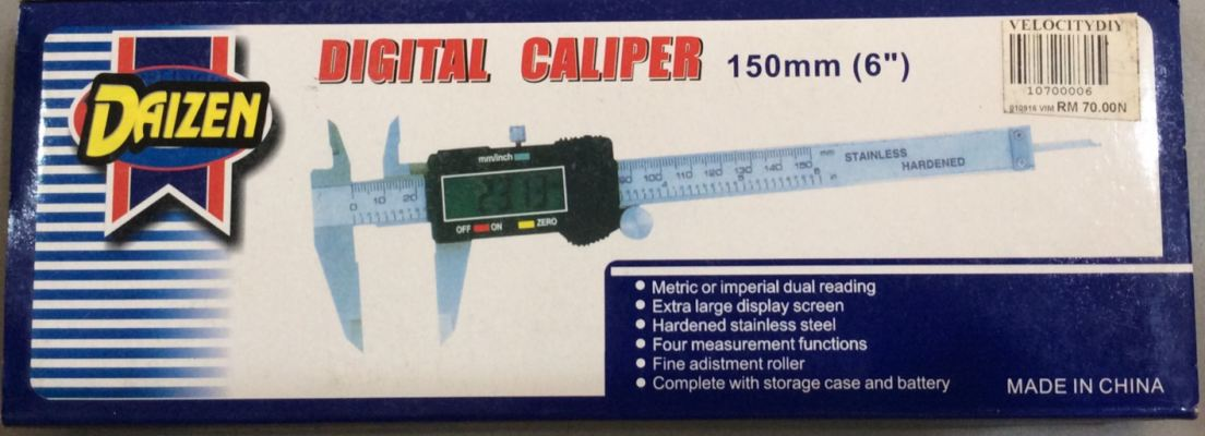 DAIZEN 150MM DIGITAL CALIPER RM70.00