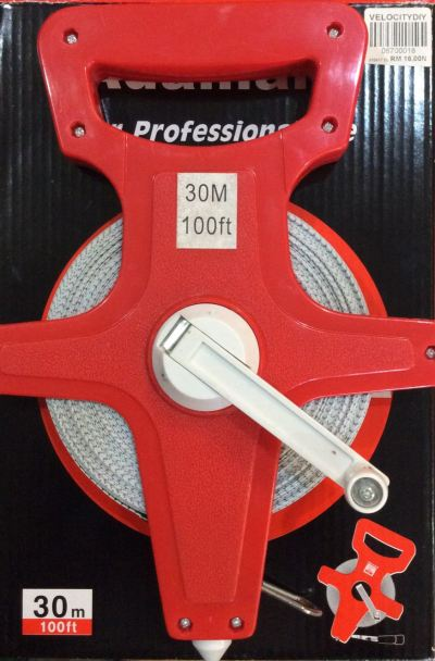30M NYLON MEASURE TAPE RM16.00