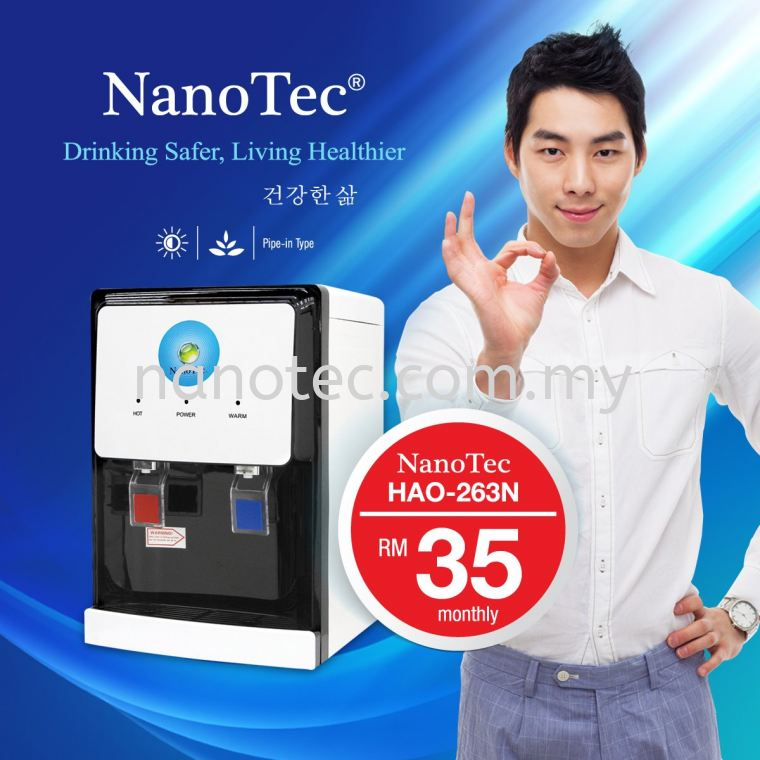 NanoTec New Water Dispenser Rental Project is only RM35 per month~~