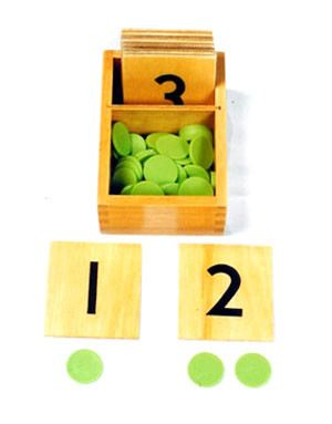 Number Cards & Counters (MM160)