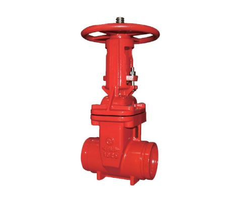 Fireriser Gate Valve Resilient Seated