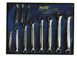 11PCS GERMAN TYPE 45�� DOUBLE RING END WRENCH