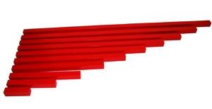 Red Rods  Long Rods (SM030) Sensorial Montessori, Materials, Supplier, Supply  ~ D'Argosy Educational Equipment (M) Sdn Bhd