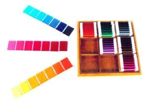 Colour Box 3 (SM080) Sensorial Montessori, Materials, Supplier, Supply  ~ D'Argosy Educational Equipment (M) Sdn Bhd