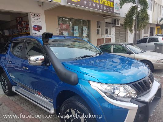 SNORKEL KIT FOR MITSUBISHI TRITON ALL NEW