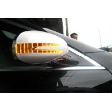 W219 Side Mirror Cover W/Arrow + Foot Lamp..