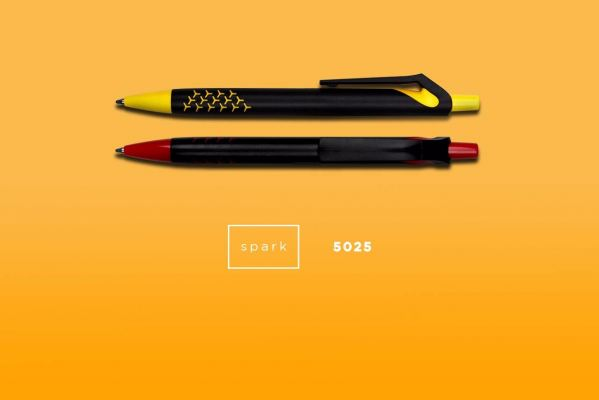 5025 SPARK - Plastic ball pen