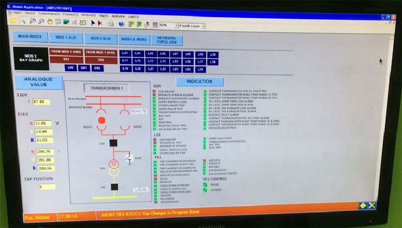SCADA Software (Sample Display) - Click to view details SCADA Software (Sample Display) Power System SCADA Software