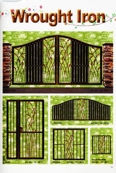 Wrought Iron gate 127