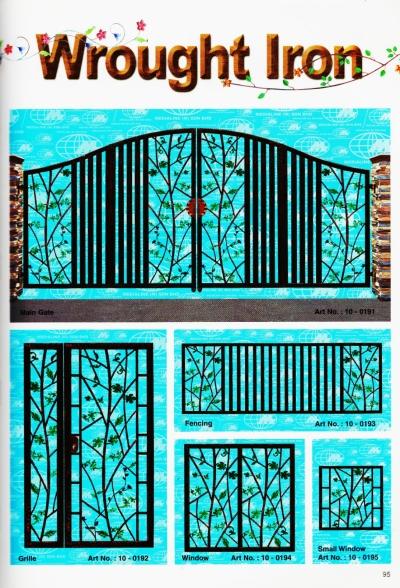 Wrought Iron gate 123