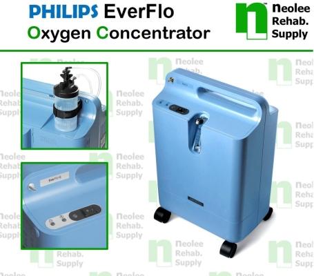 NL012 Philips Respironics  EverFlo Oxygen Concentrator