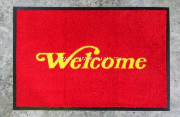 Eco Message Mat - Welcome