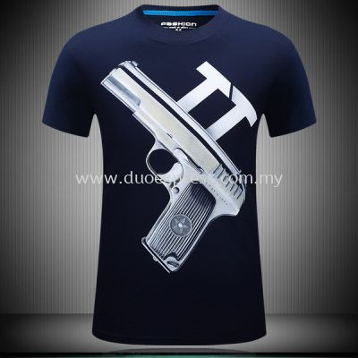 Fulll Print Dye Sublimation T Shirt