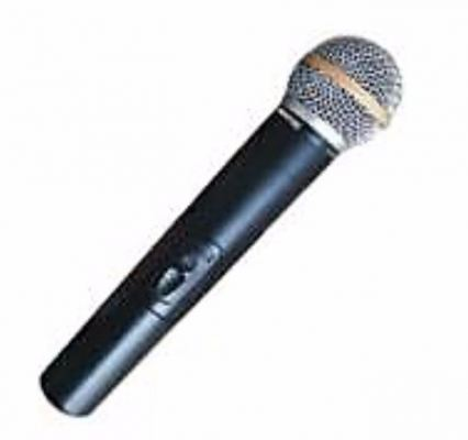 SPARK MULTI FUNCTION UHF WIRELESS MICROPHONE (U-9)